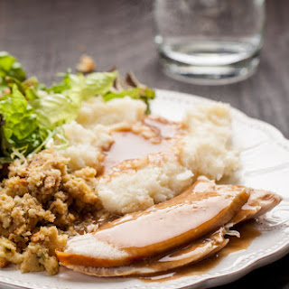 Oven Roasted Turkey with Olive Oil, Salt and Pepper