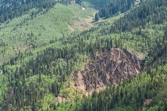 Photo: Cliffs along Million Dollar Highway