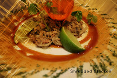 Shredded chicken grilled with onion, garlic and our tropical mango sauce