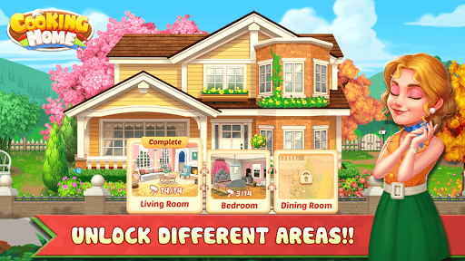 Cooking Home: Design Home in Restaurant Games 1.0.10 screenshots 9