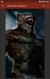 Werewolf Wallpaper HD Screenshot