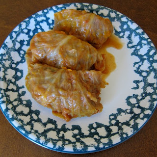 "Russian Stuffed Cabbage Rolls ""Golubtsy"""
