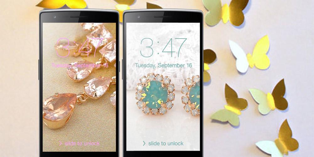 Rose Gold Jewel Wallpaper On Google Play Reviews Stats