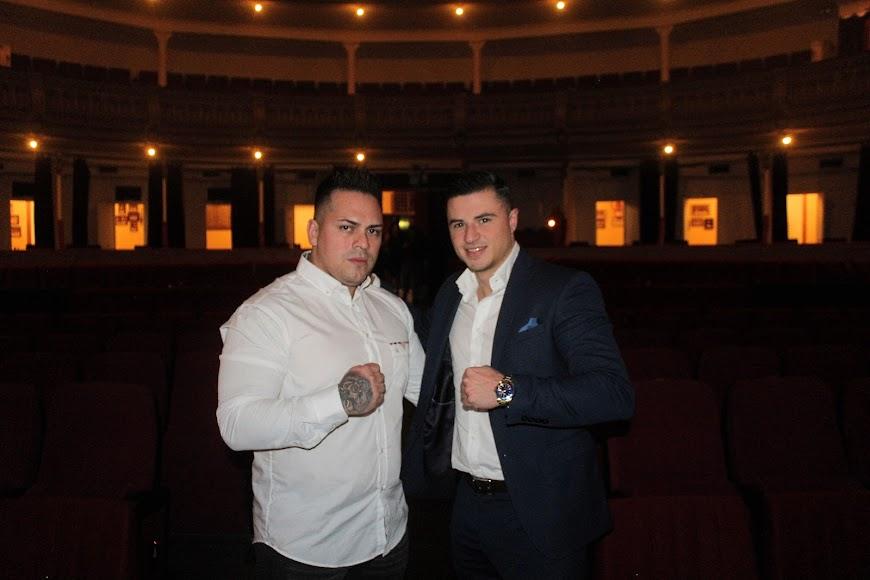 Toro y Miguel Martínez disfrutando de la celebración de los Premios de la Noche Almeriense.