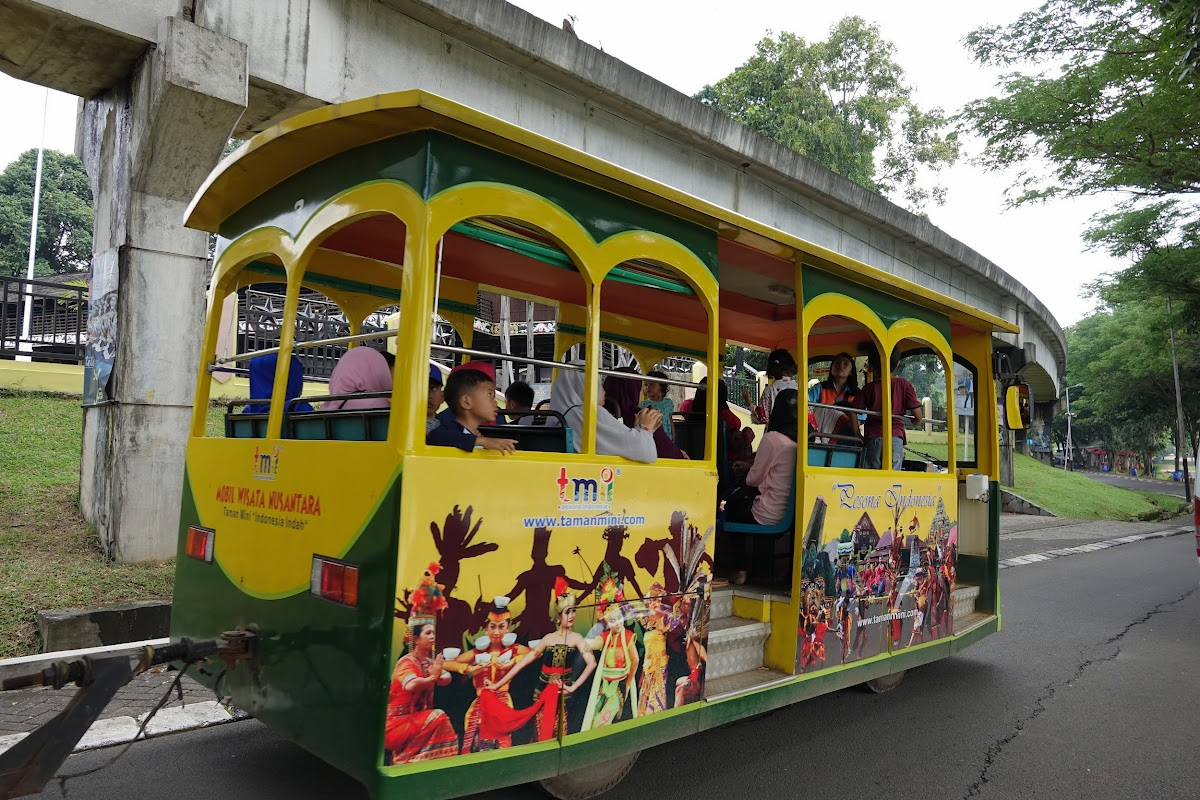 Trolley in Mini Indonesia
