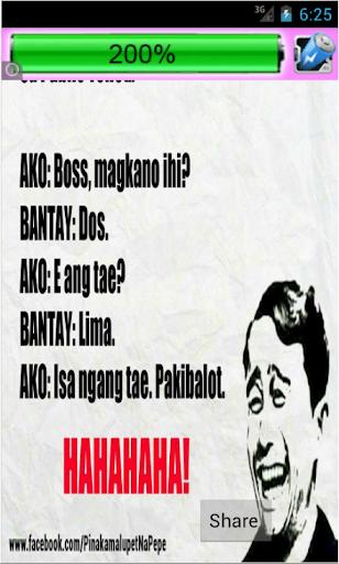 Download Pinoy Funny Joke Hugot Lines Google Play softwares