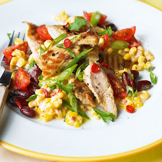Toasted Corn And Chicken Salad