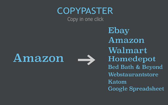 Copypaster - Amazon Dropshipping Copy Tool