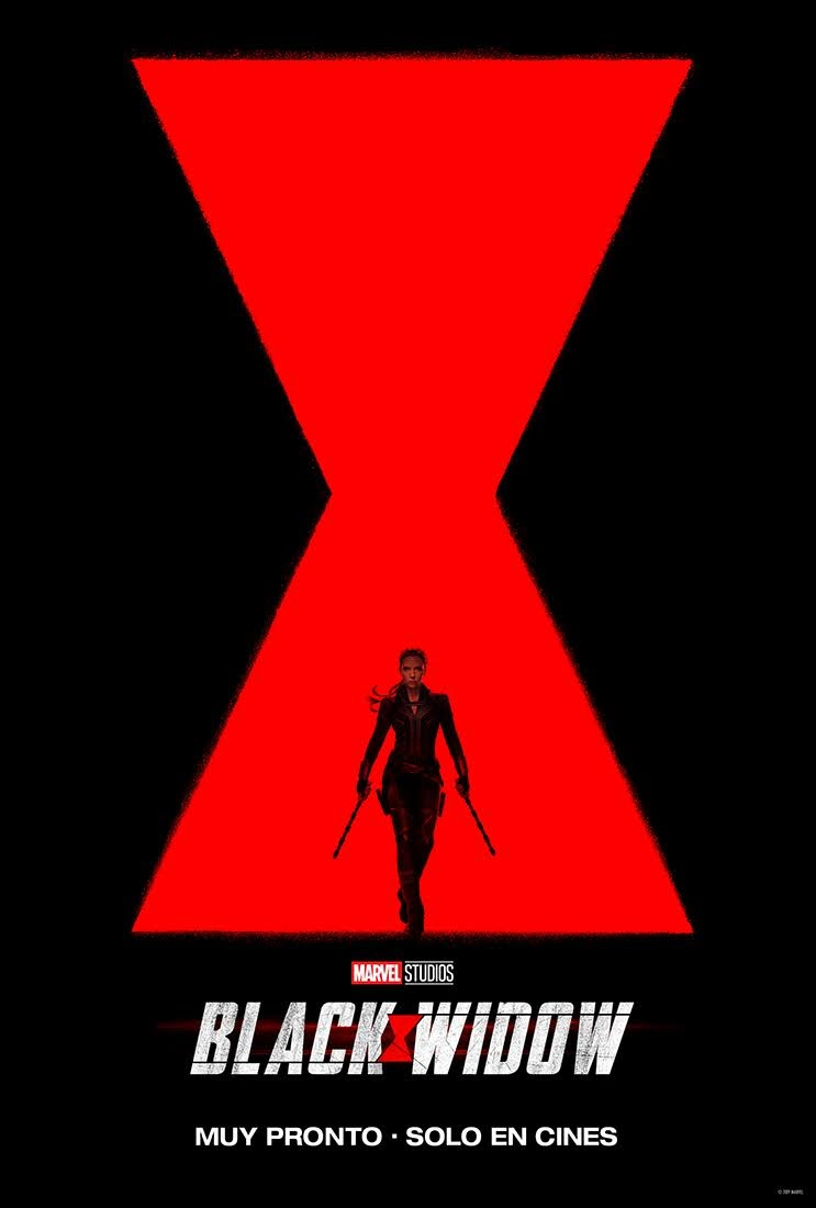 Teaser trailer y poster Black Widow / Estreno: Abril 2020
