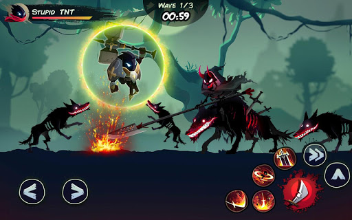 Shadow Stickman: Fight for Justice screenshot 4