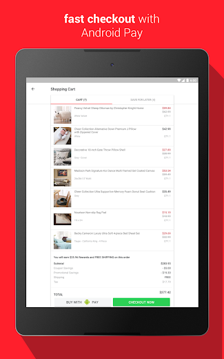 Screenshot 9 for Overstock.com's Android app'