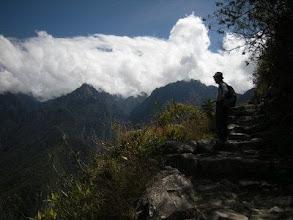 Photo: マチュピチュ 太陽の門へ 神様がいそうな山々に圧倒された