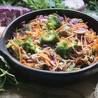 Asian Winter Noodle Salad