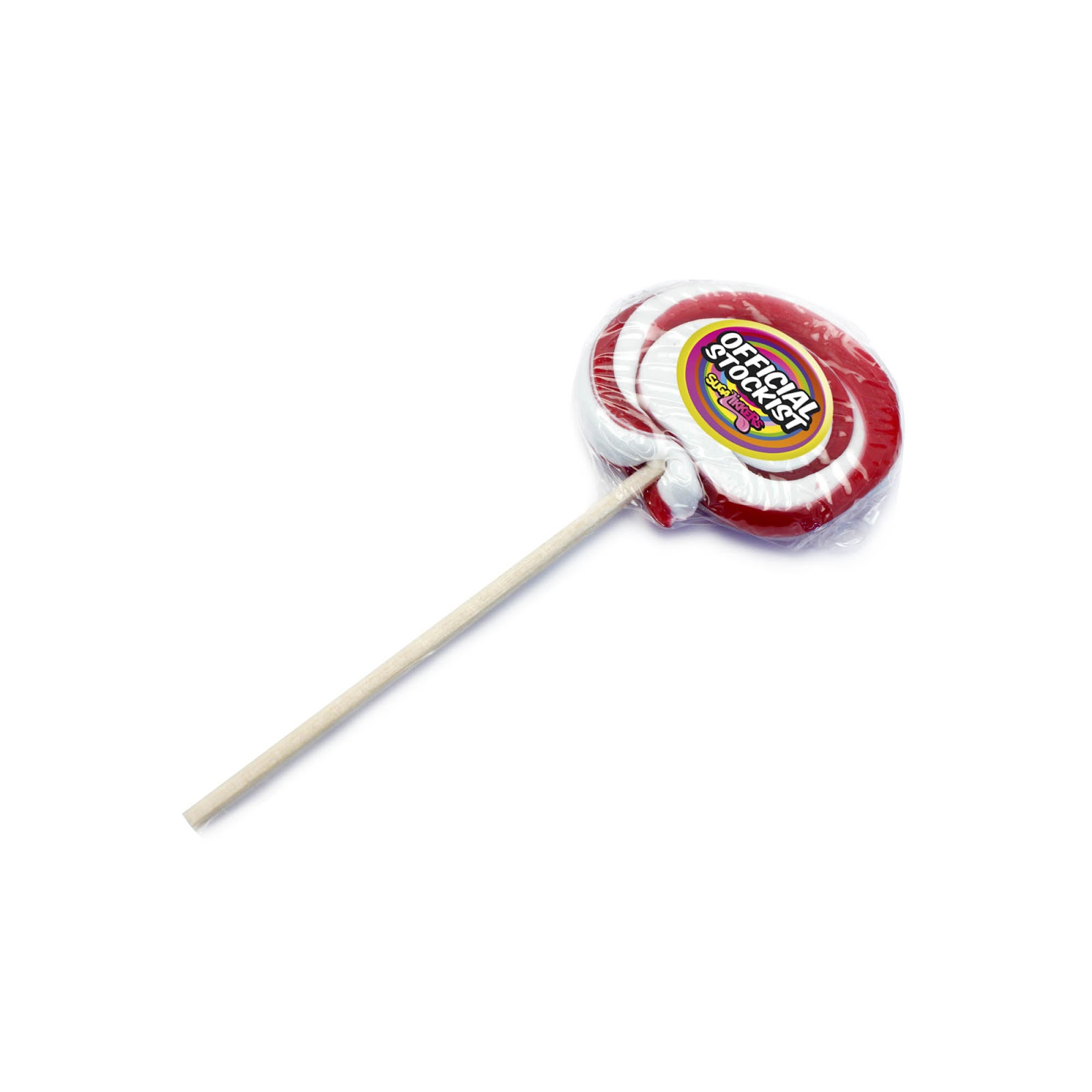 Personalised Swirly Lollipops