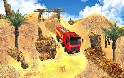 Truck Cargo Driving Hill Simulation : Truck Games 4