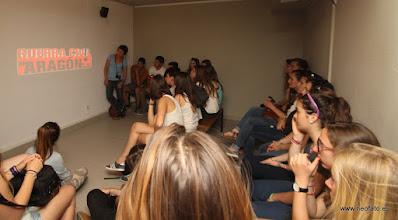 Photo: 30.05.2015.- Visita alumnado Lycée René Cassin de Bayona.Robres. C.I Guerra en Aragón