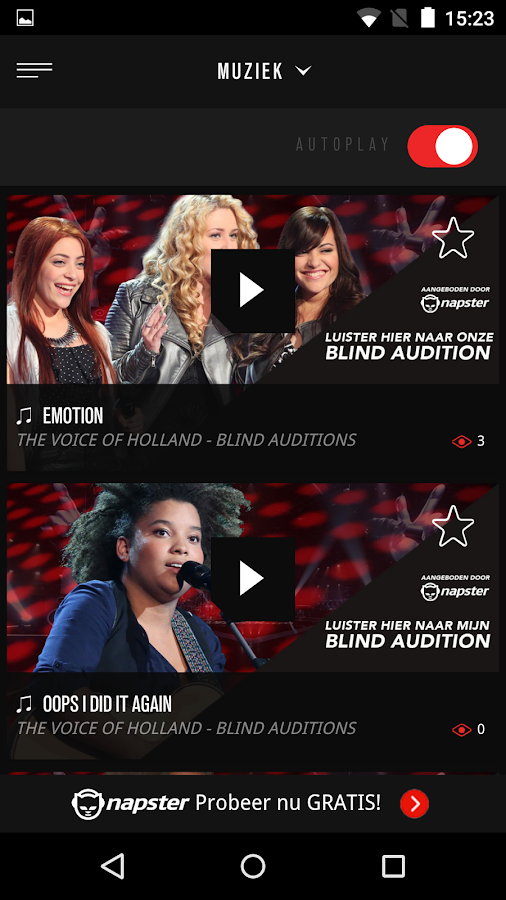 The voice of Holland RedRoom- screenshot