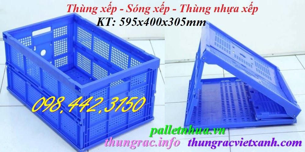 Sóng nhựa xếp TGX50