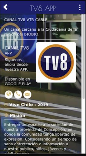 CANAL TV8 APP screenshot 1