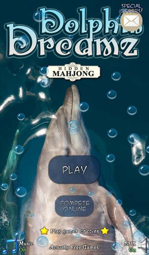 Hidden Mahjong: Dolphin Dreamz