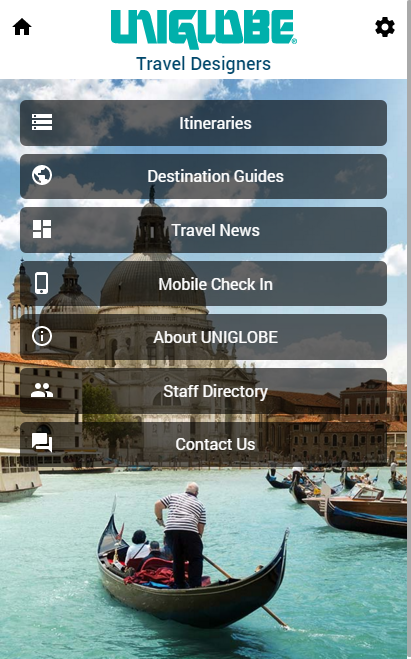 UNIGLOBE Travel Companion- screenshot