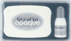 StazOn Opaque Ink Kit Cotton White