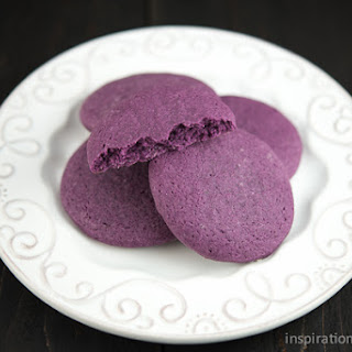 Purple Sugar Cookies