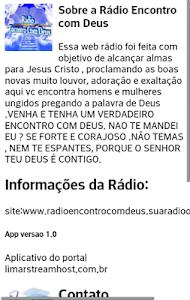 Rádio Encontro com Deus screenshot 4