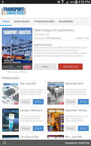 Indian Transport Logistic News