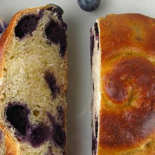 Blueberry Cheesecake Challah Rolls.