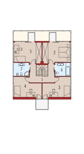 Box G2 - Rzut piętra