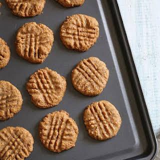 3-Ingredient Almond Butter Cookies.
