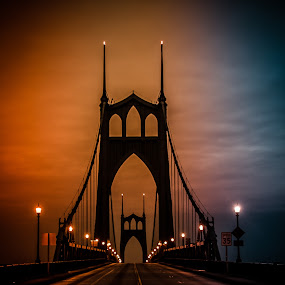 Darkness Falls by Ivan Johnson - Buildings & Architecture Bridges & Suspended Structures (  )