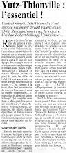 Photo: 14-02-96 N2F Robert Schimpf analyse la victoire contre Valenciennes
