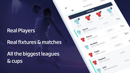 FOOSIO - Live Football Manager