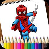 Coloring Book Lego Superheroes