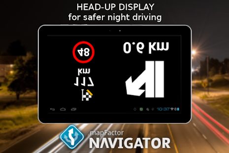 MapFactor GPS Navigation Maps- screenshot thumbnail