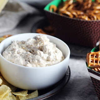 Sour Cream + Cheddar French Onion Dip Recipe