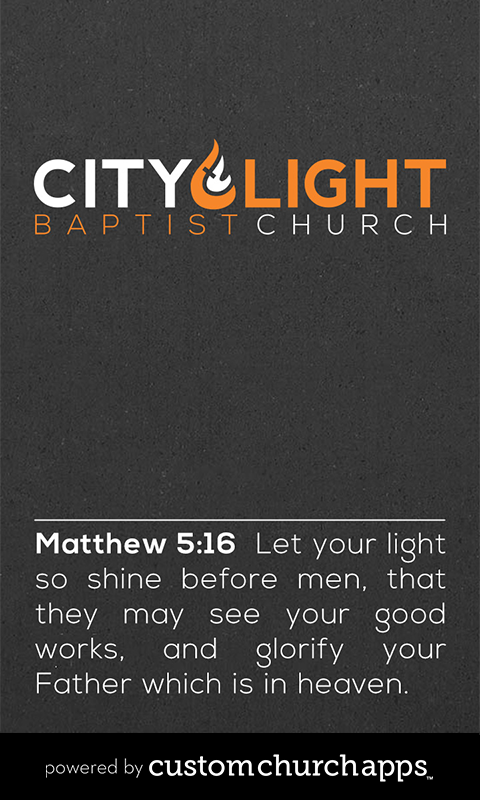 City Light Baptist Church- screenshot