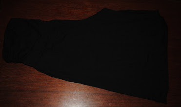 Photo: Old Navy Knit Maternity Gauchos with side ruched belly panel or foldover waistband. Black. Size XL