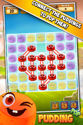 Pudding Pop - Connect & Splash Free Match 3 Game screenshot 1
