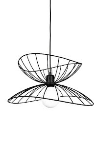 Globen Lighting Ray Taklampa Svart 45 cm - lavanille.com