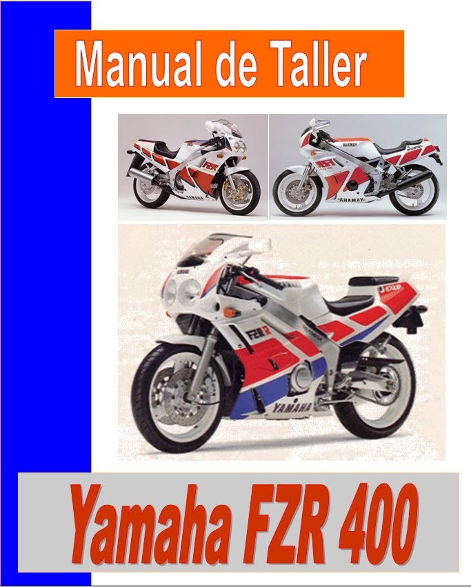 Yamaha FZR 400 R-manual-taller-despiece-mecanica