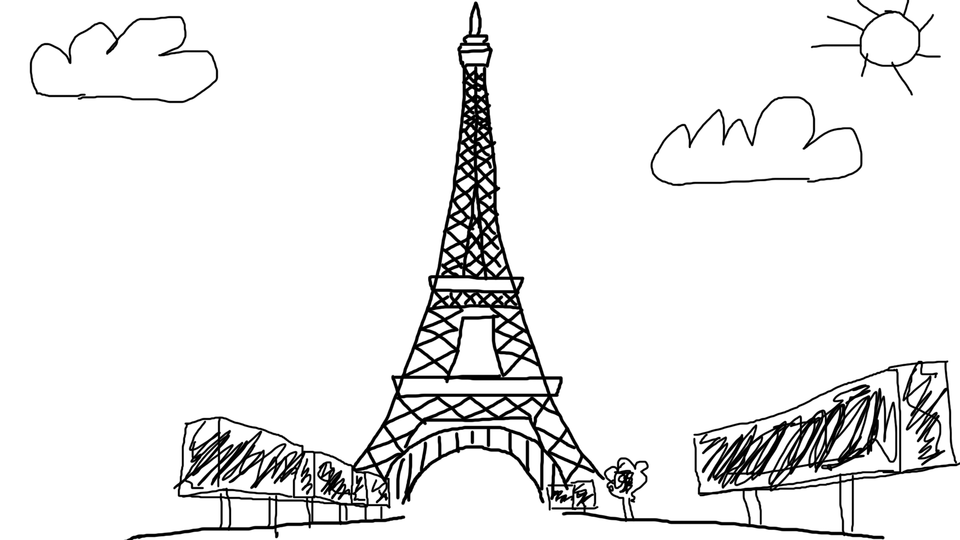 This is a Eiffel Tower NFT that's cheaper than the one that just sold for $100,000.