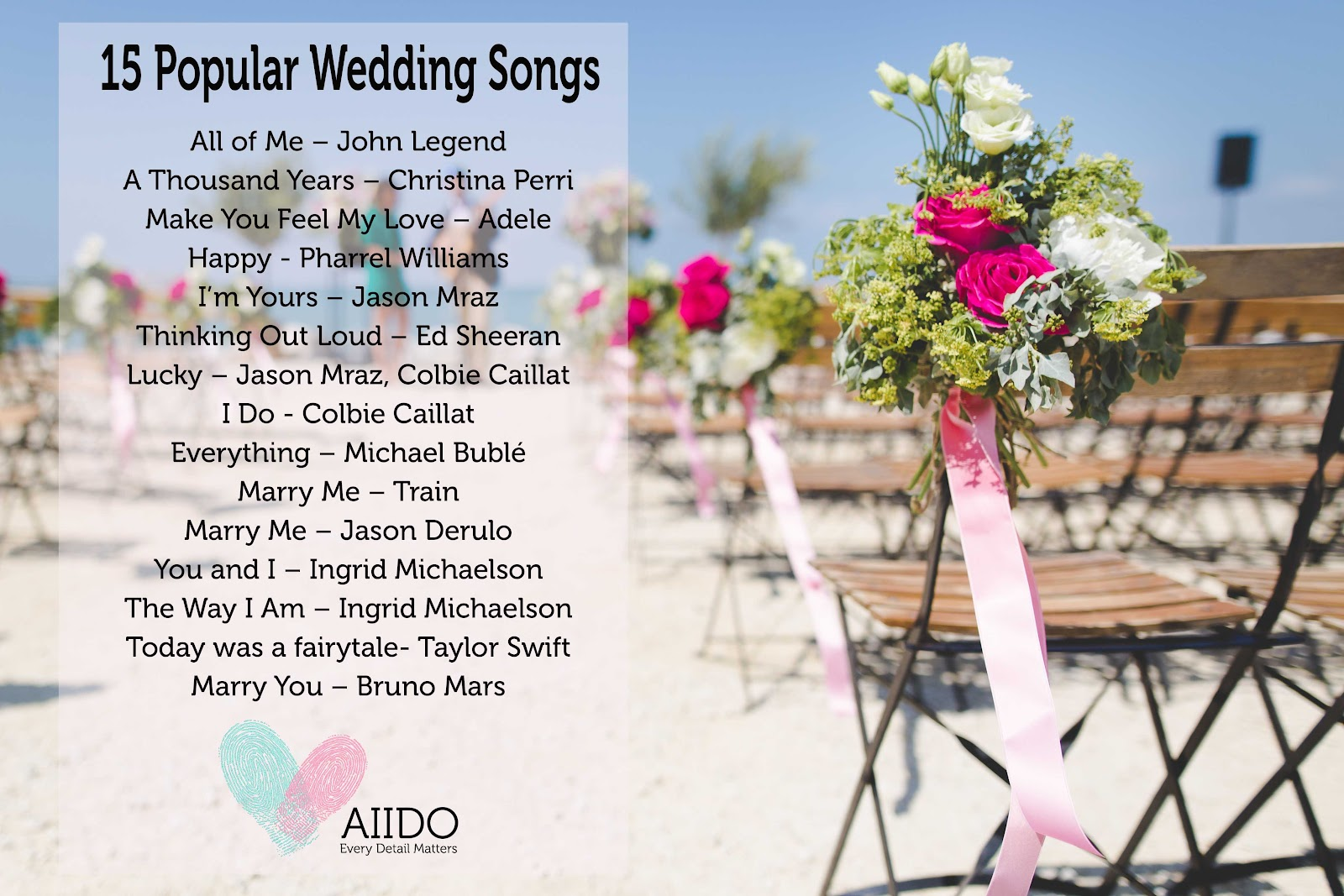 Aiido | The Ultimate Guide to Wedding Love Songs
