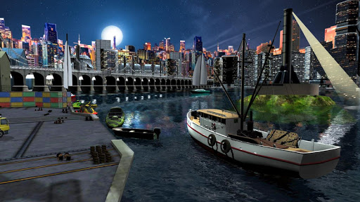 Fishing Boat Driving Simulator : Ship Games 2.0 screenshots 2
