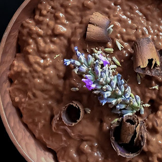 Chocolate Lavender Chia Pudding Recipe