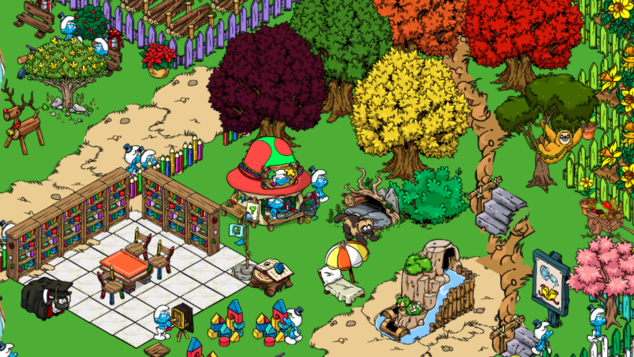 Smurfs' Village- screenshot