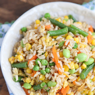 5-Ingredient Vegetable Fried Rice