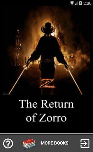 The Return of Zorro Screenshot
